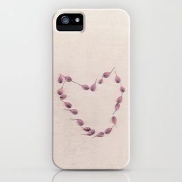 Seeds of love iPhone Case