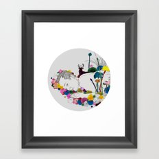 Flower Funeral Framed Art Print