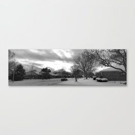 The Land of Ice and Snow Canvas Print