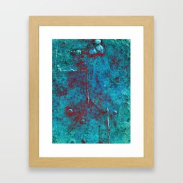 Ninety Degrees Framed Art Print