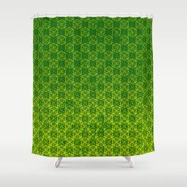 D20 Druid Ranger Crit Pattern Premium Shower Curtain
