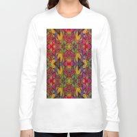 escher Long Sleeve T-shirts featuring Escher Tile by RingWaveArt