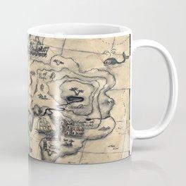 Old Nautical Map Coffee Mug