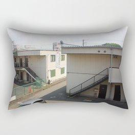 """Empty Places I"" Rectangular Pillow"