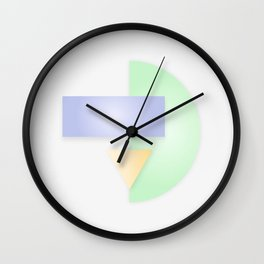 Geometric Calendar - Day 25 Wall Clock