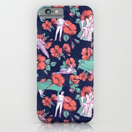 Gold-Bloom iPhone Case