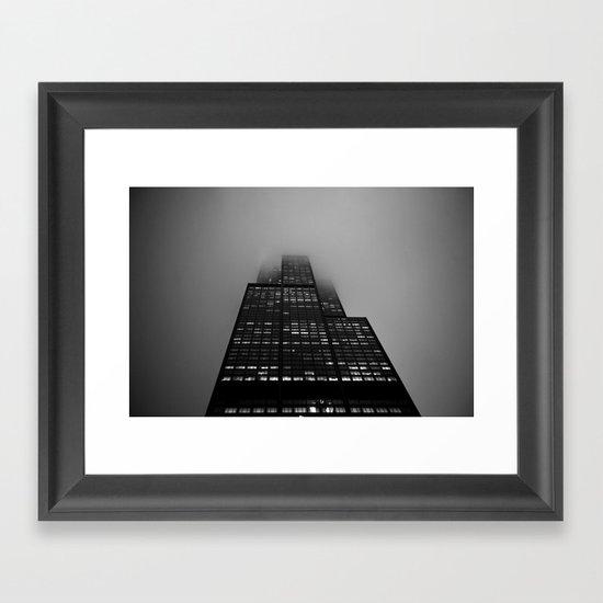It's A Long Road Framed Art Print