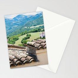 Umbrian landscapes Stationery Cards