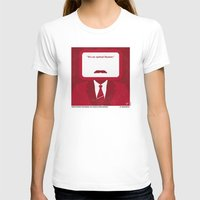 will ferrell T-shirts featuring No278 My Anchorman Ron Burgundy minimal movie poster by Chungkong