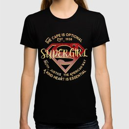 the cape is optional T-shirt