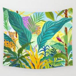 Paradise Jungle Wall Tapestry