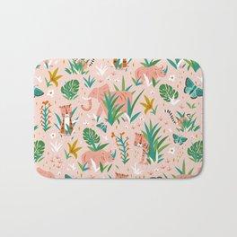 Endangered Wilderness - Blush Pink Bath Mat