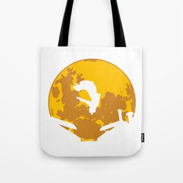 "Awesome and Cool Parkour T-shirt Design ""Parkour"" Moon Freestyle Jumping Race Free-Run Sports Tote Bag"