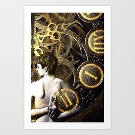 Theory of Time: revêtement Art Print