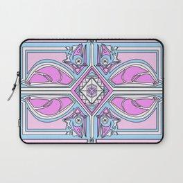 symmetry Purple/Blue Laptop Sleeve