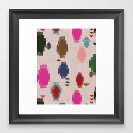 Dhurrie Framed Art Print
