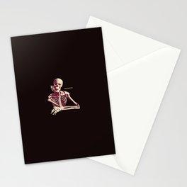 Skeleton Waiting Stationery Cards