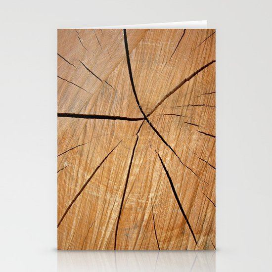 wood macro II Stationery Cards
