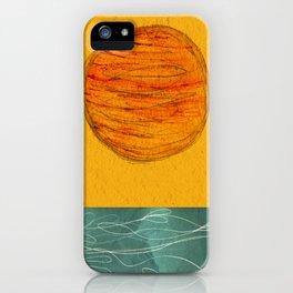 Sunset Sun iPhone Case