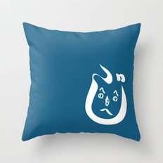HeNoHeNoMoHeJi Throw Pillow