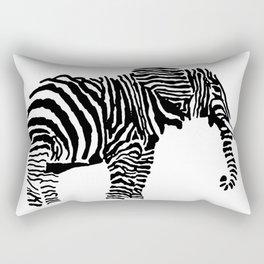 Elephant Canvas Print Rectangular Pillow