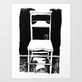 Silent Chear Art Print