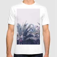 Palmistry Mens Fitted Tee MEDIUM White