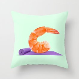 YOGAMBA Throw Pillow