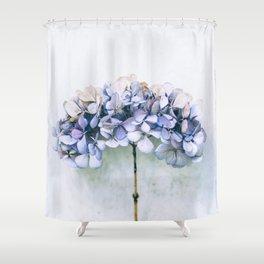 Delicate Hydrangea Shower Curtain