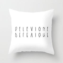 delevigne Throw Pillow