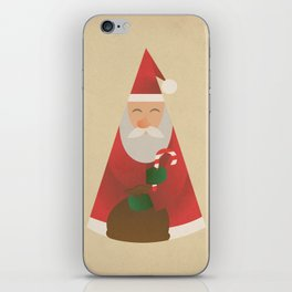 Father Christmas iPhone Skin