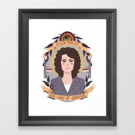Ellen Ripley Framed Art Print