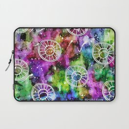 The Sunflower and the Cross Laptop Sleeve