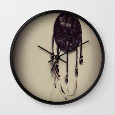 Wolf Dreamcatcher Wall Clock