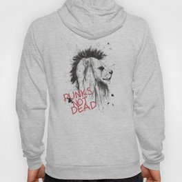 Punks not dead Hoody