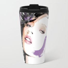 Vogue Fashion Illustration #8 Travel Mug