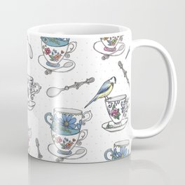 Birdsong Teaparty Coffee Mug