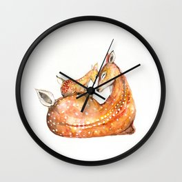 Doh a Deer Wall Clock