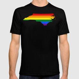 Gay Pride North Carolina (LGBT) T-shirt