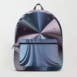 Warping towards a black hole Backpack