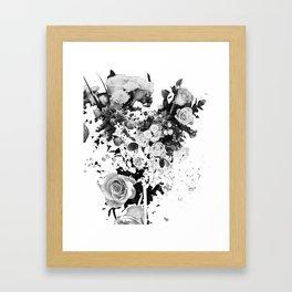 Exploded Frailty Framed Art Print