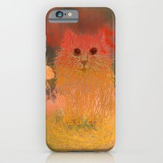 orange kitten iPhone 6s Slim Case
