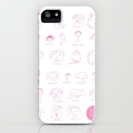 Faces of Rafiki iPhone Case