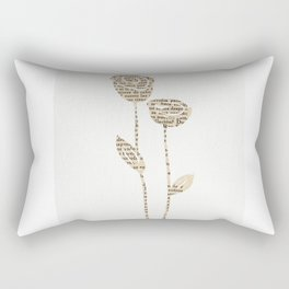 PAPERCUT FLOWER 5 Rectangular Pillow