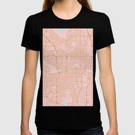 Calgary map, Canada T-shirt