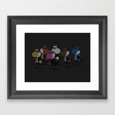 Reservoir Yoshis Framed Art Print