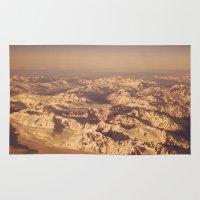 looking for alaska Area & Throw Rugs featuring Somewhere Over Alaska by Alaskan Momma Bear