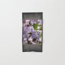Common Purple Lilac Hand & Bath Towel