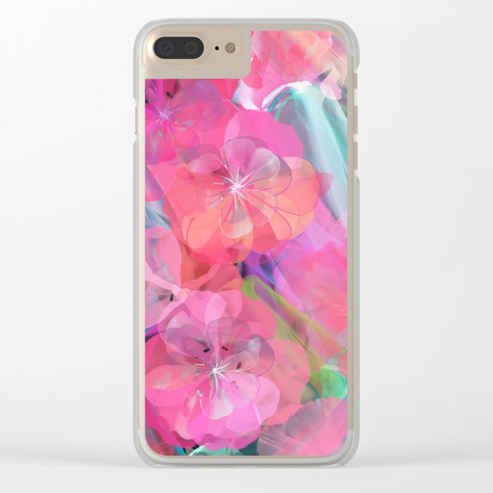 Flower carpet(60) Clear iPhone Case