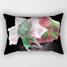 Fishing I Rectangular Pillow